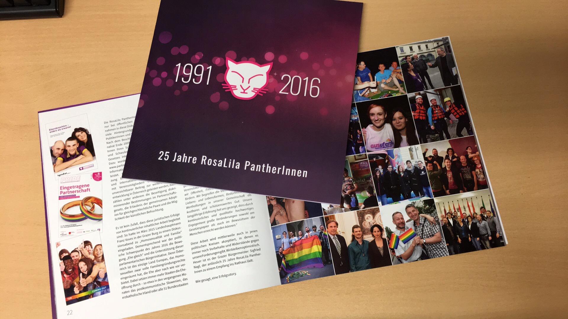 Festschrift zum Jubiläum der RosaLila PantherInenn